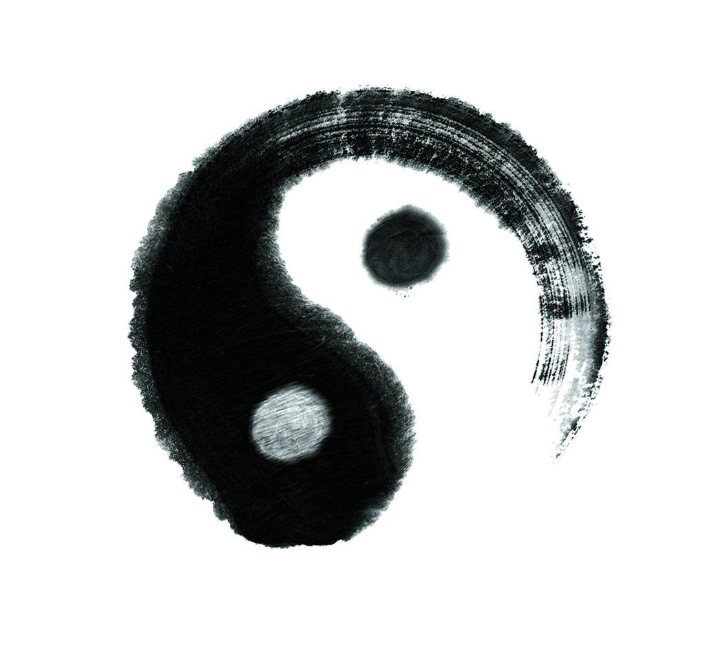 yin-yang-peint